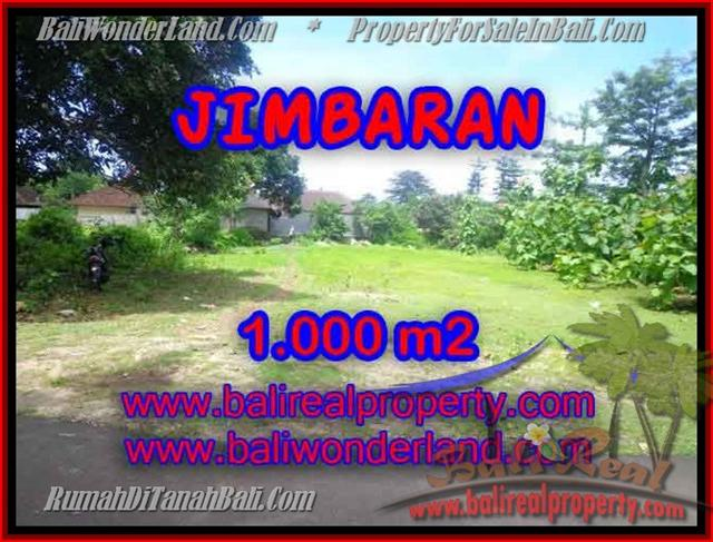 Exotic PROPERTY LAND IN Jimbaran four seasons FOR SALE TJJI063