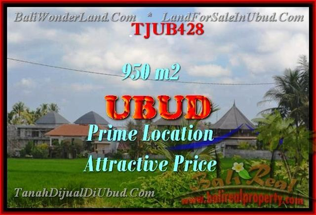 Exotic LAND IN Sentral Ubud BALI FOR SALE TJUB428