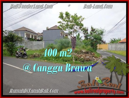 Magnificent PROPERTY 400 m2 LAND SALE IN CANGGU BALI TJCG175