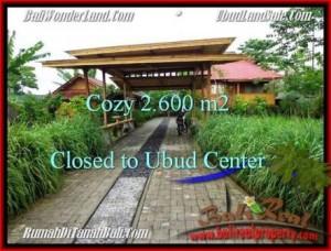 FOR SALE Magnificent LAND IN Sentral Ubud BALI TJUB491