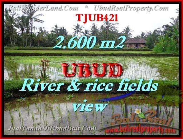 Magnificent PROPERTY LAND IN UBUD FOR SALE TJUB421