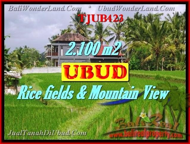 Exotic Ubud Tegalalang BALI LAND FOR SALE TJUB423