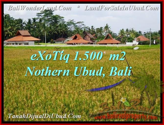 Exotic LAND SALE IN Sentral Ubud BALI TJUB488