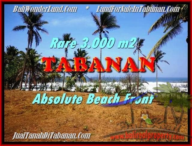Beautiful PROPERTY 3.000 m2 LAND SALE IN Tabanan Selemadeg TJTB168