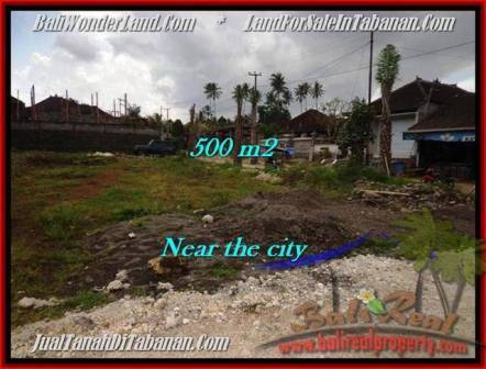LAND IN Tabanan City BALI FOR SALE TJTB201