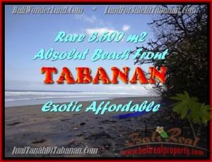 Exotic 3.500 m2 LAND IN TABANAN BALI FOR SALE TJTB156
