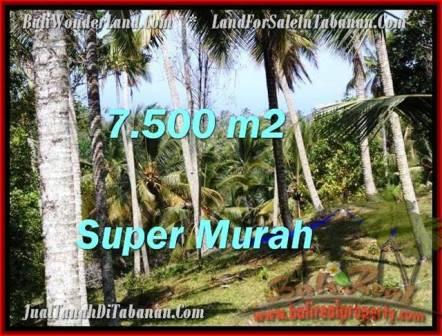 Affordable PROPERTY LAND IN TABANAN FOR SALE TJTB207