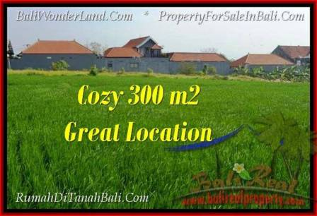 Magnificent PROPERTY 300 m2 LAND SALE IN Canggu Brawa TJCG186