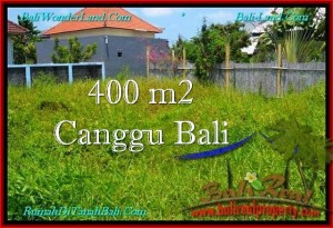 Magnificent 400 m2 LAND IN CANGGU FOR SALE TJCG189