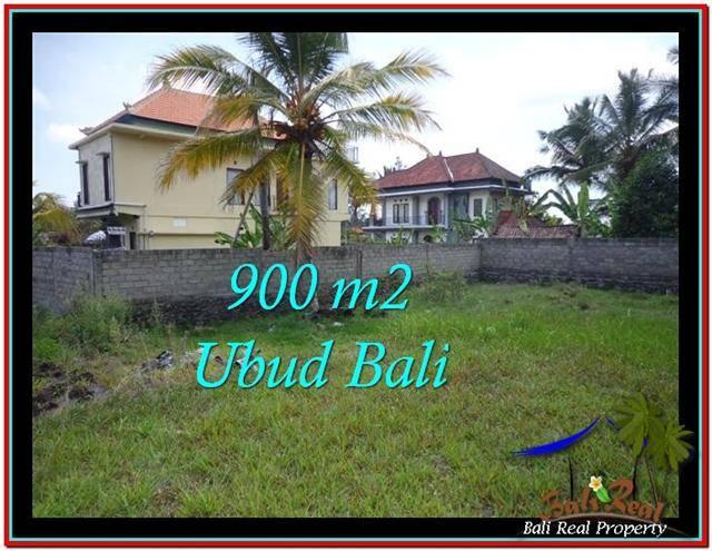 Beautiful PROPERTY 900 m2 LAND SALE IN Ubud Tampak Siring TJUB532