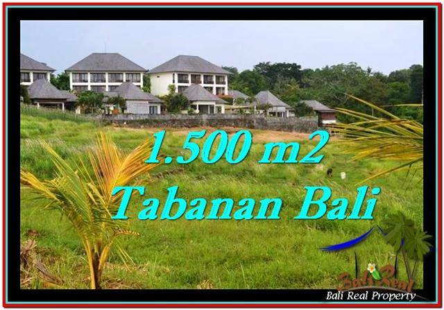 FOR SALE Magnificent PROPERTY LAND IN TABANAN TJTB252