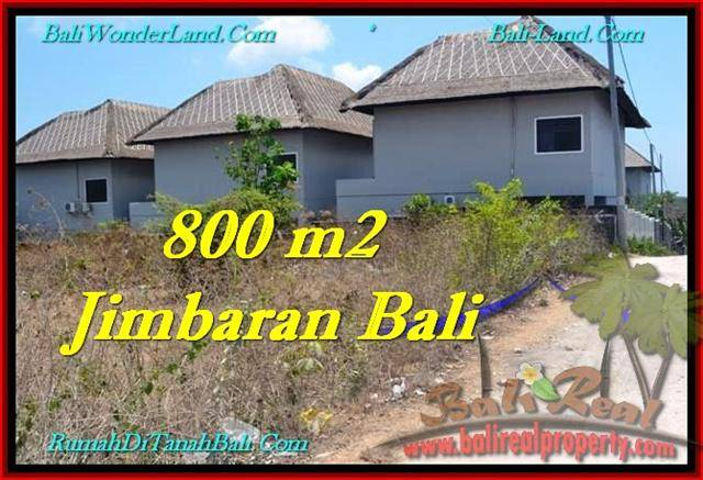 Magnificent PROPERTY 800 m2 LAND SALE IN JIMBARAN TJJI098