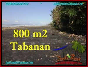 Affordable 800 m2 LAND FOR SALE IN TABANAN BALI TJTB260