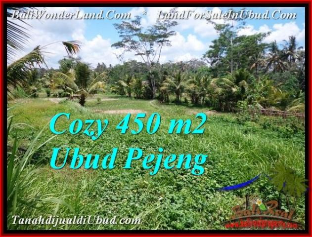 450 m2 LAND FOR SALE IN UBUD BALI TJUB535