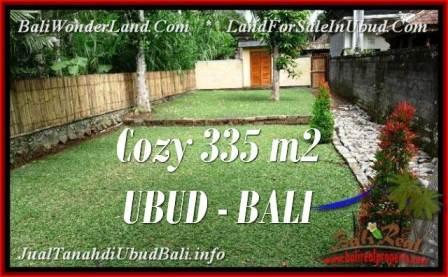Affordable PROPERTY LAND IN UBUD FOR SALE TJUB537