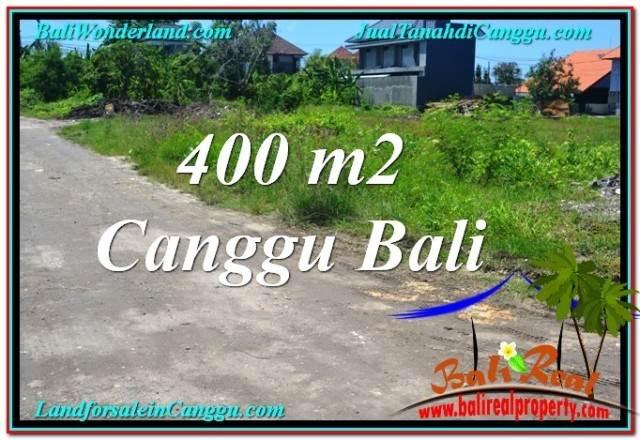Exotic 400 m2 LAND IN CANGGU BALI FOR SALE TJCG202