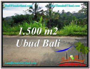 Exotic UBUD BALI 1,500 m2 LAND FOR SALE TJUB556