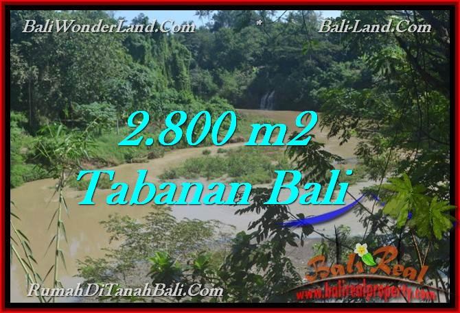 Exotic PROPERTY 2,800 m2 LAND FOR SALE IN Tabanan Selemadeg TJTB276