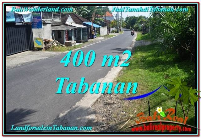 FOR SALE Affordable PROPERTY 400 m2 LAND IN TABANAN BALI TJTB296