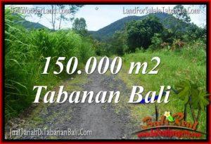 FOR SALE Exotic PROPERTY 150,000 m2 LAND IN Tabanan Penebel TJTB318