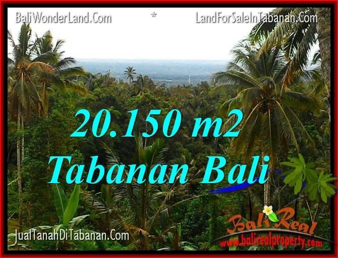 Exotic PROPERTY LAND FOR SALE IN TABANAN BALI TJTB322