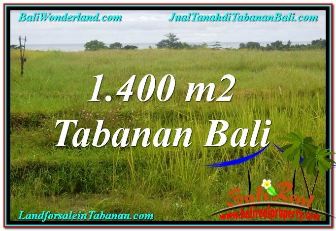Beautiful PROPERTY 1,400 m2 LAND FOR SALE IN Tabanan BALI TJTB309