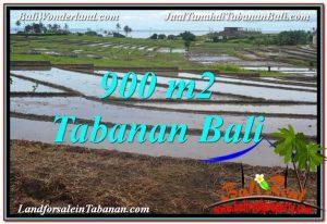 FOR SALE 900 m2 LAND IN TABANAN BALI TJTB308