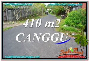 Exotic 410 m2 LAND FOR SALE IN CANGGU TJCG216