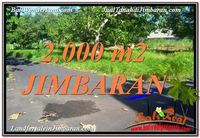Exotic PROPERTY LAND IN JIMBARAN FOR SALE TJJI114