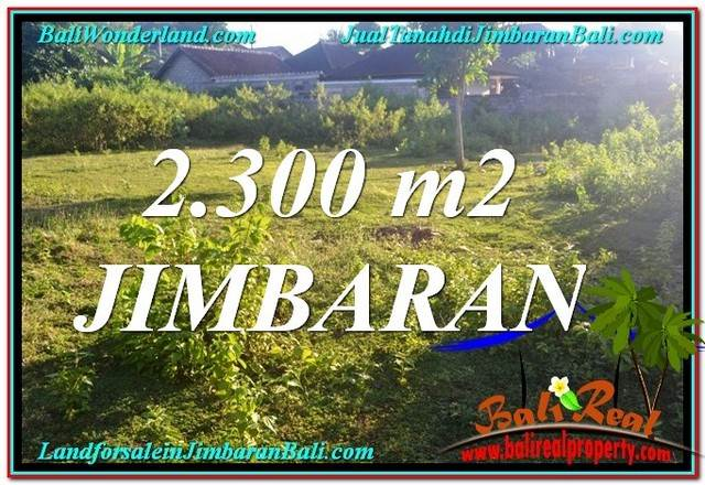 Exotic PROPERTY 2,300 m2 LAND SALE IN Jimbaran Ungasan BALI TJJI117