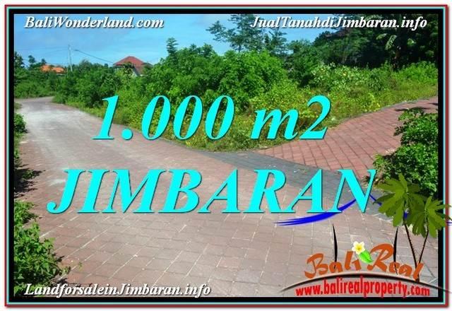 FOR SALE 1,000 m2 LAND IN Jimbaran Uluwatu  TJJI111