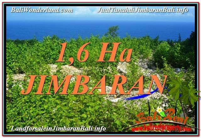 Exotic PROPERTY JIMBARAN BALI 16,000 m2 LAND FOR SALE TJJI112