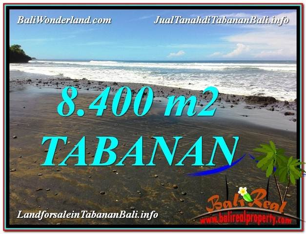 Beautiful PROPERTY Tabanan Selemadeg 8,400 m2 LAND FOR SALE TJTB326