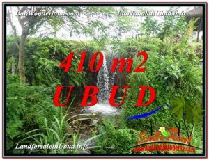 FOR SALE Exotic PROPERTY 410 m2 LAND IN UBUD BALI TJUB578