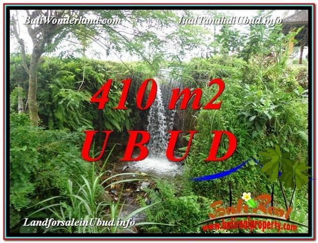 Magnificent 410 m2 LAND IN UBUD BALI FOR SALE TJUB578