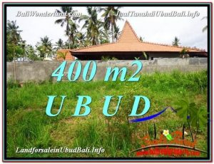 Affordable UBUD BALI 400 m2 LAND FOR SALE TJUB585