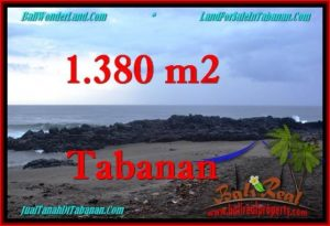 1,380 m2 LAND IN TABANAN BALI FOR SALE TJTB270