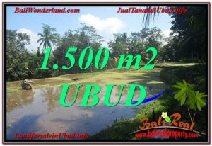 Exotic PROPERTY LAND FOR SALE IN UBUD TJUB630