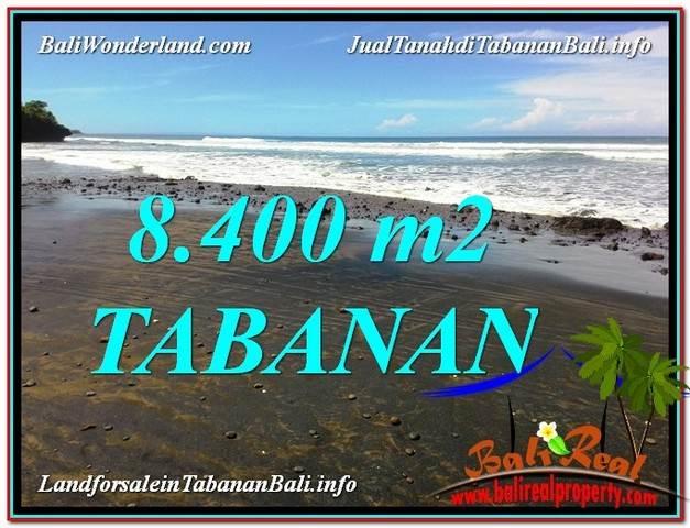 Exotic PROPERTY 8,400 m2 LAND FOR SALE IN Tabanan Selemadeg BALI TJTB326