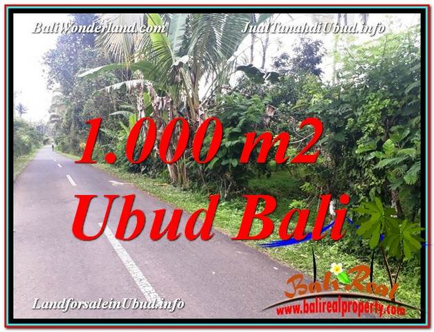 FOR SALE Beautiful LAND IN Ubud Tegalalang BALI TJUB614
