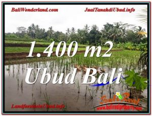 Magnificent PROPERTY Ubud Payangan 1,400 m2 LAND FOR SALE TJUB615