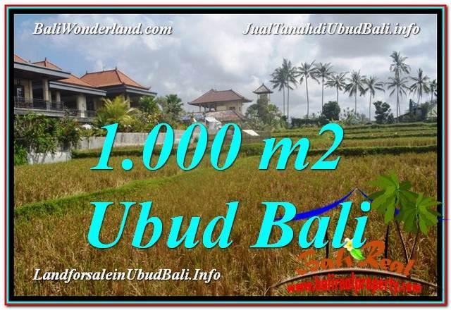 Affordable 1,000 m2 LAND SALE IN UBUD TJUB618