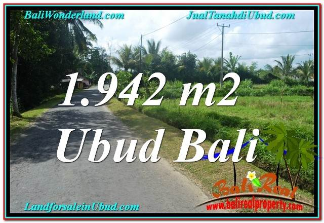 LAND FOR SALE IN Ubud Pejeng BALI TJUB626