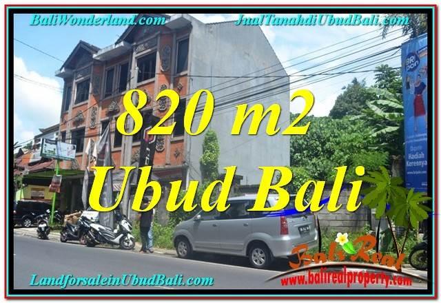 Beautiful 820 m2 LAND SALE IN UBUD TJUB643
