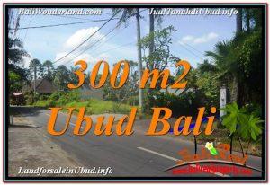 Affordable PROPERTY 300 m2 LAND SALE IN UBUD BALI TJUB646