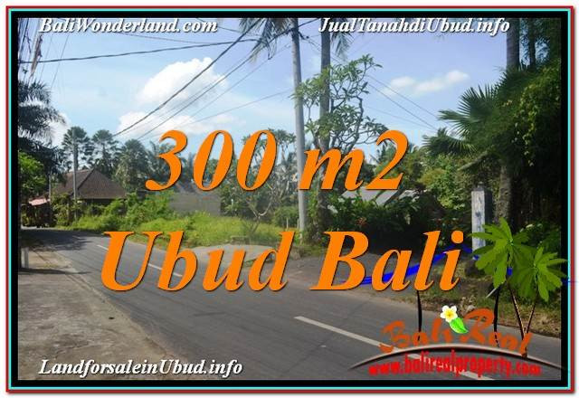 Beautiful PROPERTY 300 m2 LAND IN UBUD FOR SALE TJUB646