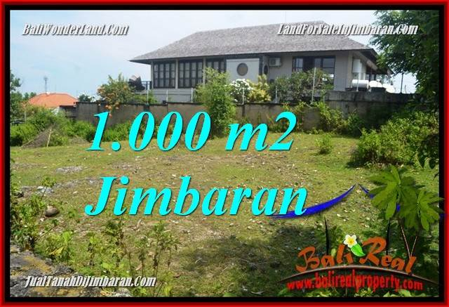 Beautiful PROPERTY 1,000 m2 LAND IN JIMBARAN BALI FOR SALE TJJI123