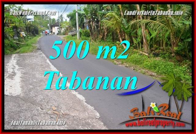 Exotic 500 m2 LAND IN Tabanan Kerambitan FOR SALE TJTB362