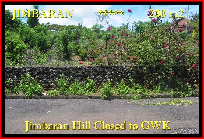 Exotic PROPERTY LAND FOR SALE IN Jimbaran Ungasan BALI TJJI086