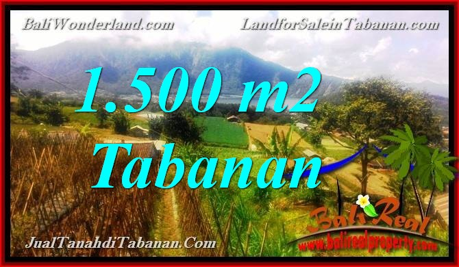 FOR SALE Exotic PROPERTY 1,500 m2 LAND IN TABANAN TJTB373